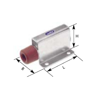 Endpuffer, verstellbar, 20-40 mm