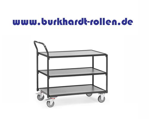 Tischwagen 1000x600,3 Etagen,TK 250 kg.
