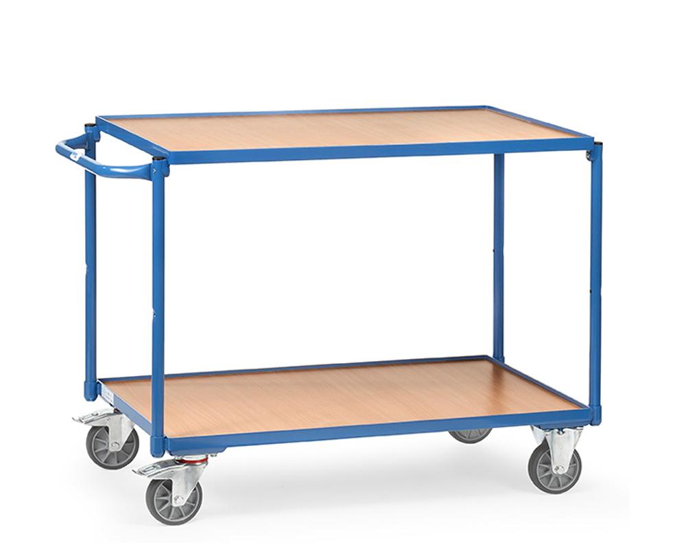 Tischwagen 850x500,2 Etagen,TK 250 kg.