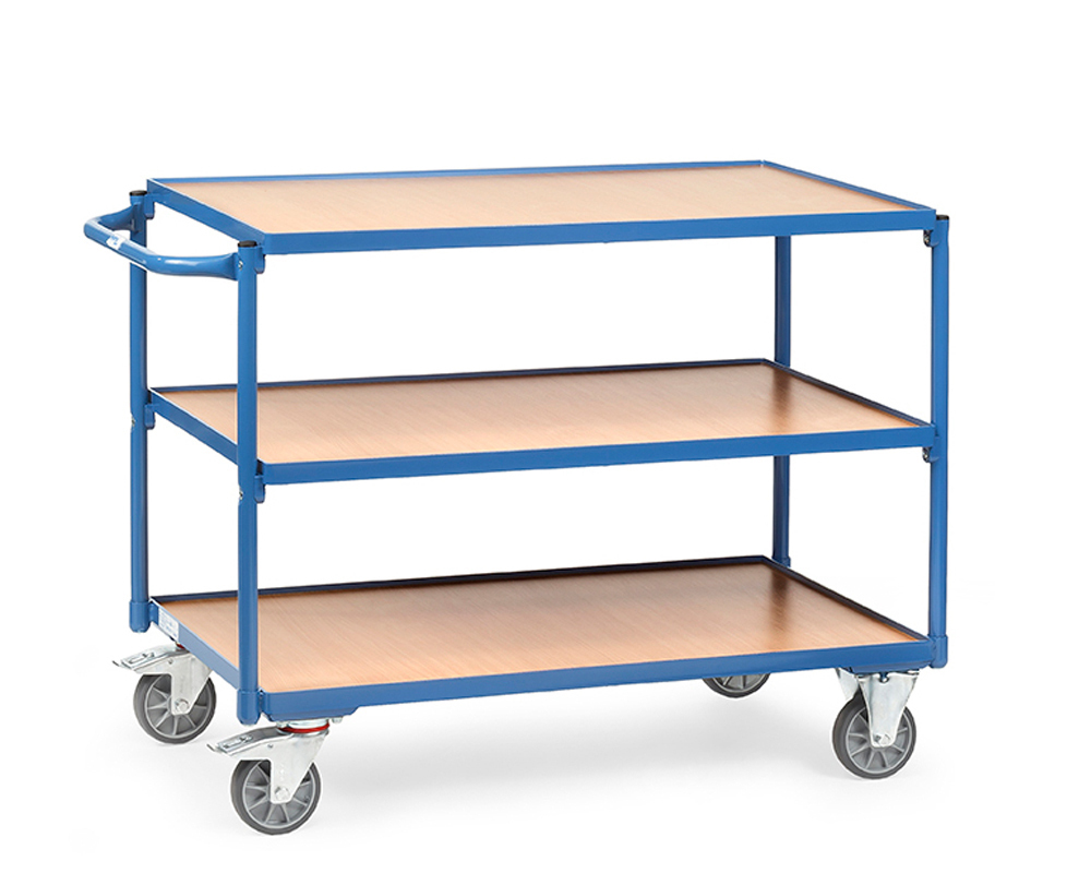 Tischwagen 850x500,3 Etagen,TK 250 kg.