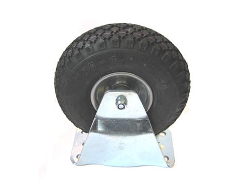 Bockrolle mit Luftrad 260x85, mit Platte