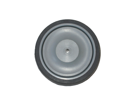 Thermoplastisches Gummi-Rad,D100x25 K6mm