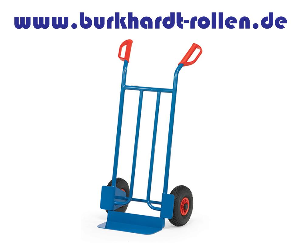Stahlrohrkarre mit Luftrad D260 mm