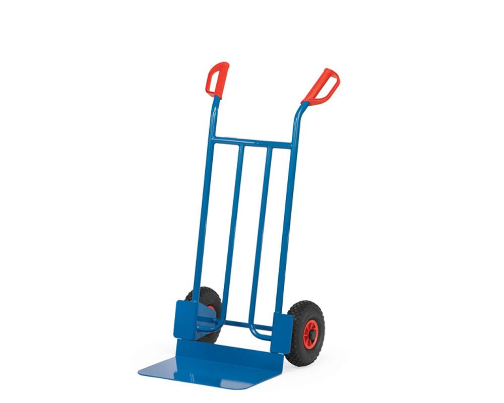 Stahlrohrkarre, Luftrad, große Schaufel