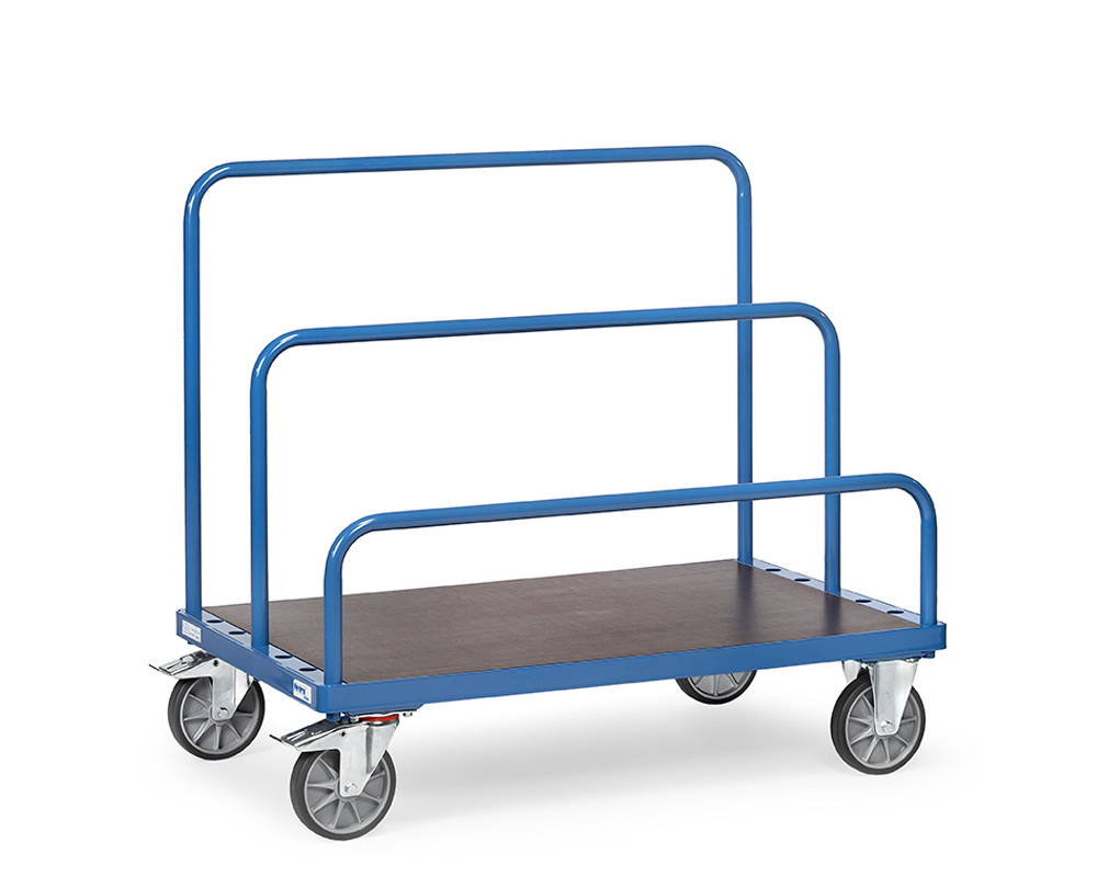 Plattenwagen, 1600x800 mm, TK 1200 kg.