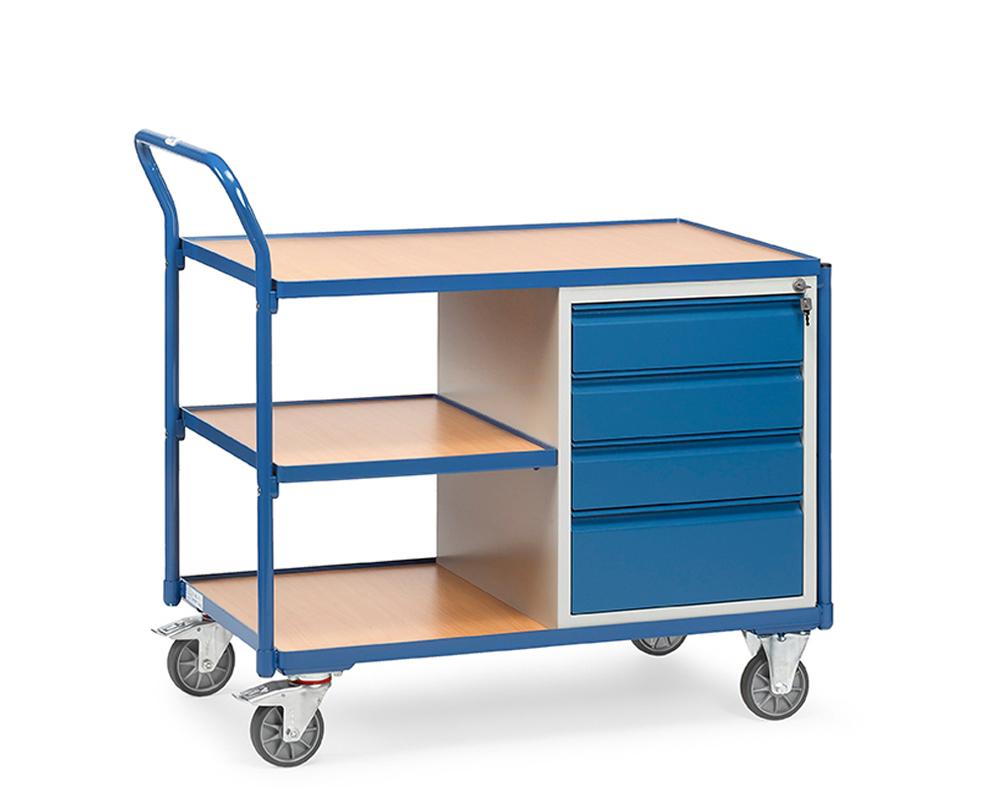 Werkstattwagen 1000x600, 4 Schubladen