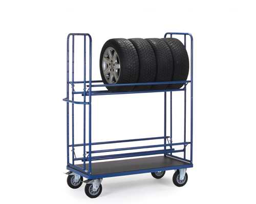 Reifenwagen,2-Etagen,1420x610 mm,TK400kg