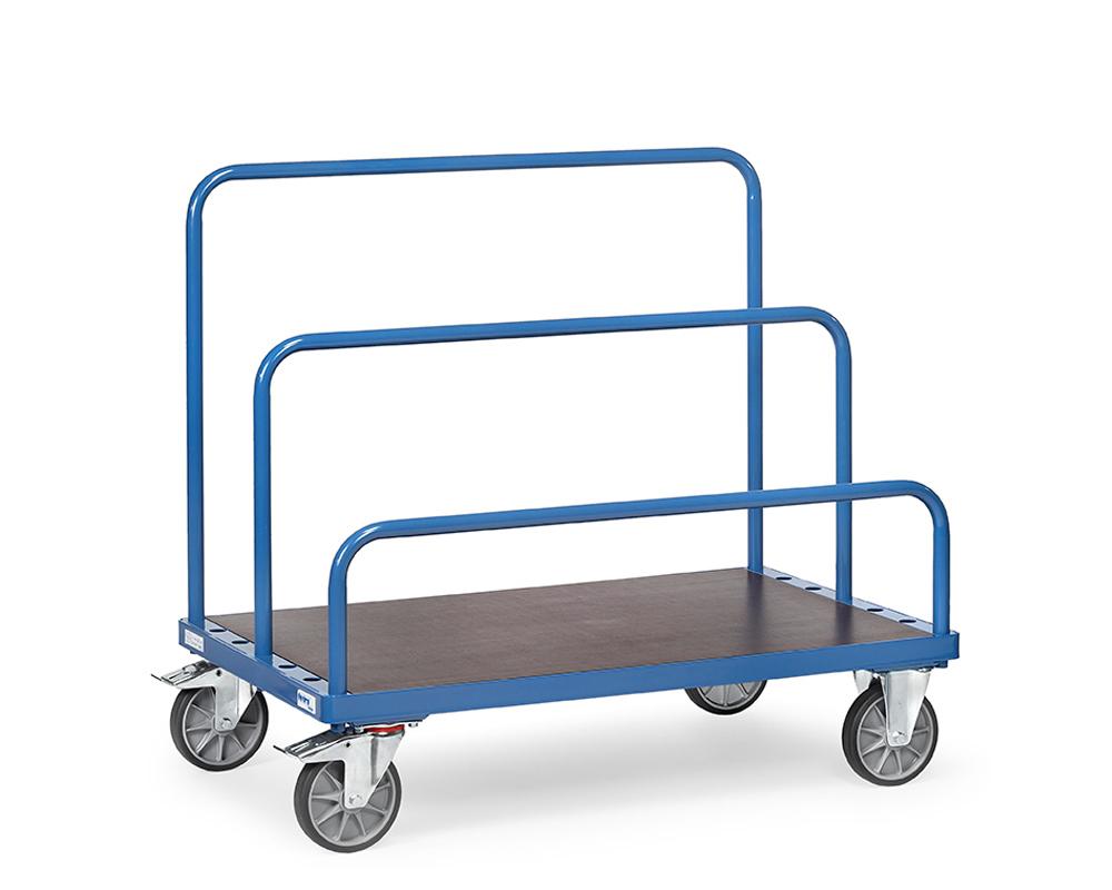 Plattenwagen, 1200x800 mm, TK 1200 kg.