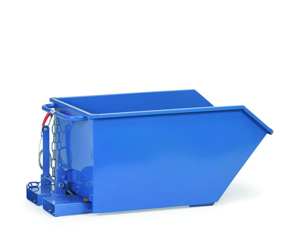 Selbstkipper mit Ablasshahn, 750 Liter