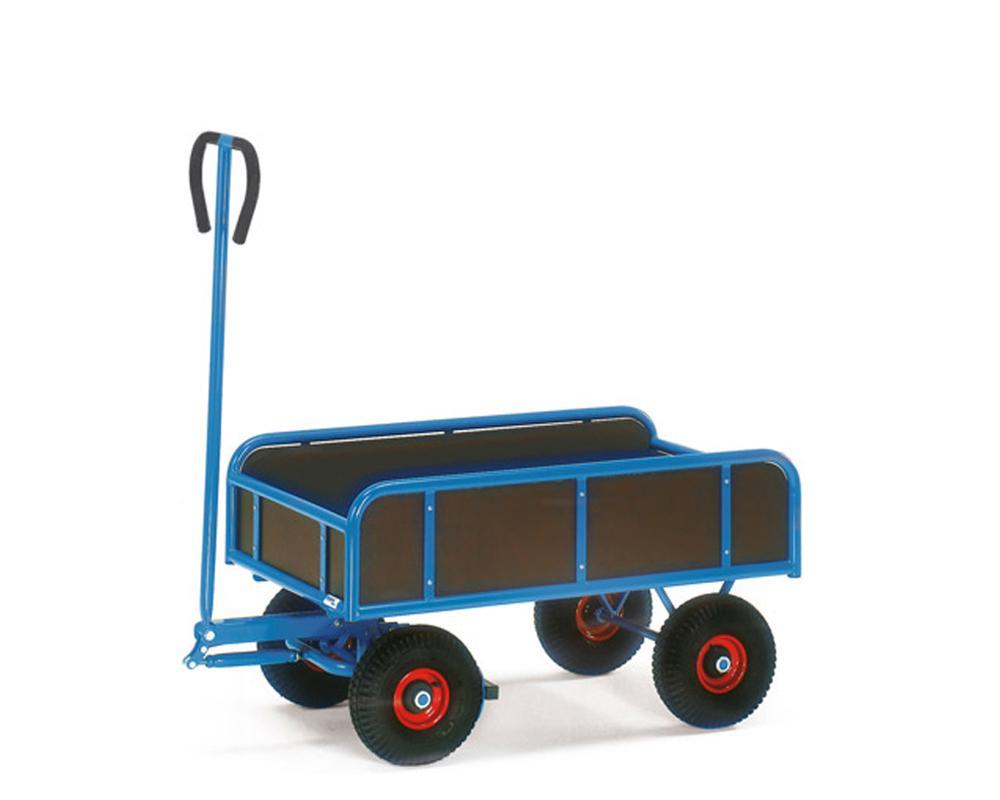 Handwagen mit 4 Wänden,2-Achser, 945x545