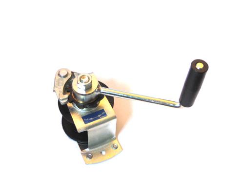 Hand-Seilwinde, Stahlblech verz.,125 kg