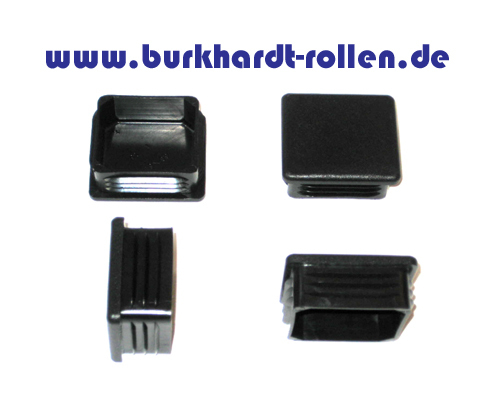 Abdeckkappe,Kunststoff,schwarz,VK40x40mm