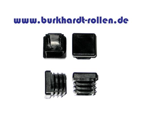 Abdeckkappe,Kunststoff,schwarz,VK30x30mm