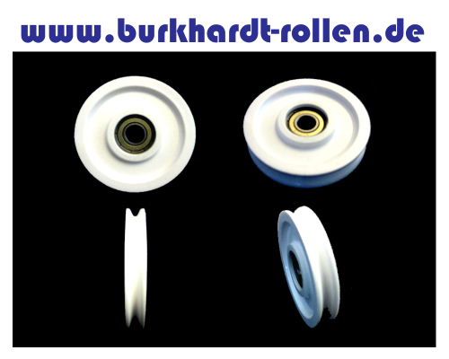 Drahtseilrolle,Kunststoff,Kula 10mm,D 71 - Burkhardt ebay-shop