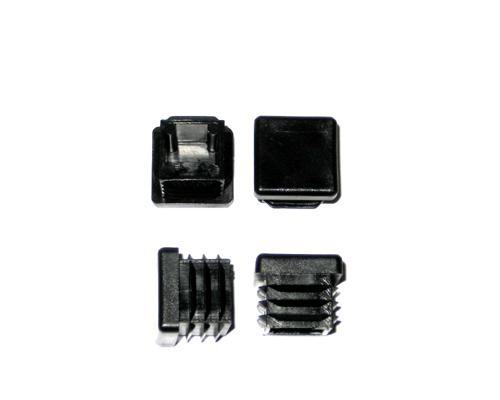 Abdeckkappe,Kunststoff,schwarz,VK20x20mm