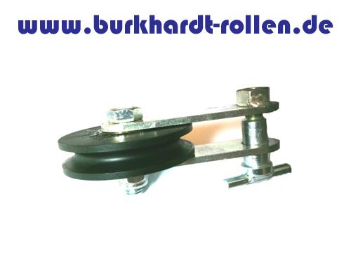 Kurzkloben, UR 1,0 t, Drm. 80 mm