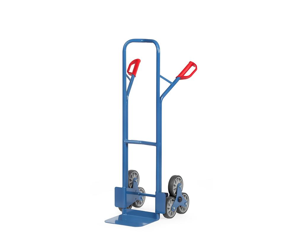 Treppenkarre, Stahl, 3 Sternrad-VG160 mm