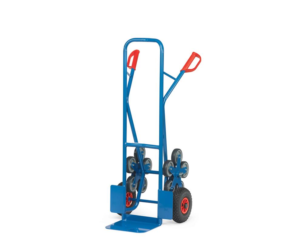 Treppenkarre,Stahl,Luftrad + 5 Stern-Rad