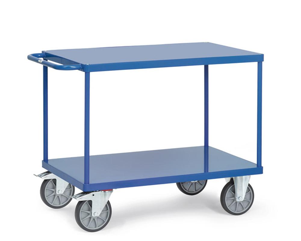 Tischwagen,Stahlblech,1000x700,2 Etagen