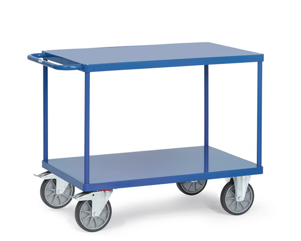 Tischwagen,Stahlblech,1200x800,2 Etagen