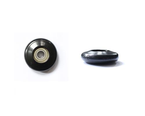 Sektionaltorlaufrolle,D=62mm,Boh=12mm ohne Achse