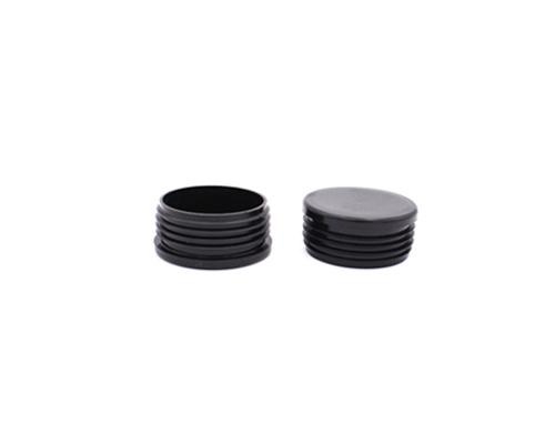 Kappen/Gleiter für Rundrohr 60mm,schwarz