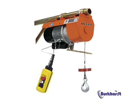 Elektrische Seilwinde 100kg,Seil 4mmx16m ,230V Anschluss,