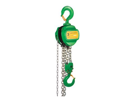 Stirnradkettenzug Green,TK 2,0t, 3mHub, Kettenflaschenzug,