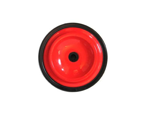 Stahlblechrad D180x30 mm G10, PVC-Reifen