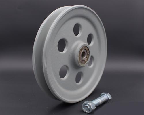 "Seilrolle, Nadellager,Grauguss,D240mm TK 500 kg, Seil bis 10mm, ""Aktionspreis"""