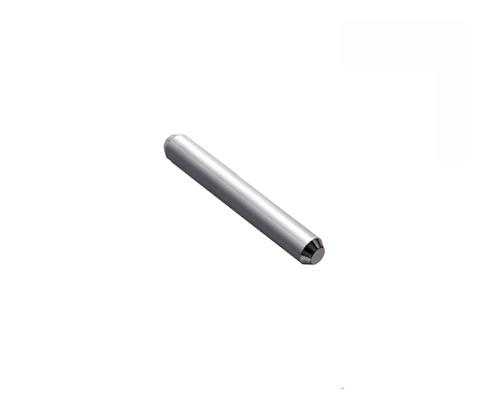 Verbindungsstift 12 mm, für Radius 19 mm für Laufschienen aus Stahl,